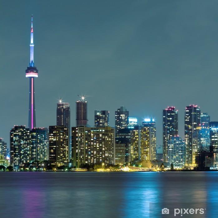 Fototapeta winylowa Toronto miasto nocą - Tematy