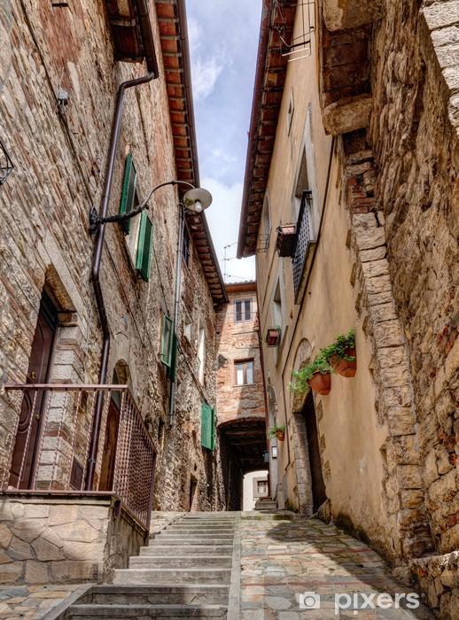 Vinilo Pixerstick Italiano antiguo callejón - Europa