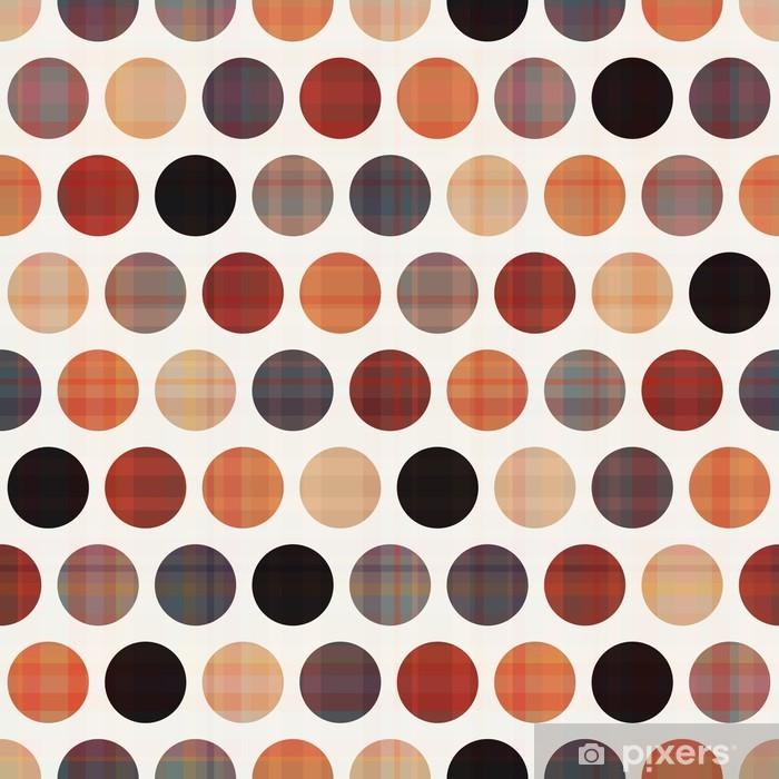 Naklejka Pixerstick Tekstury powtarzalne tle koła - Tematy
