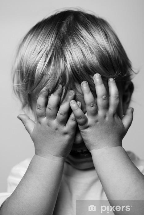 Nálepka Pixerstick Pláče chlapec - Témata