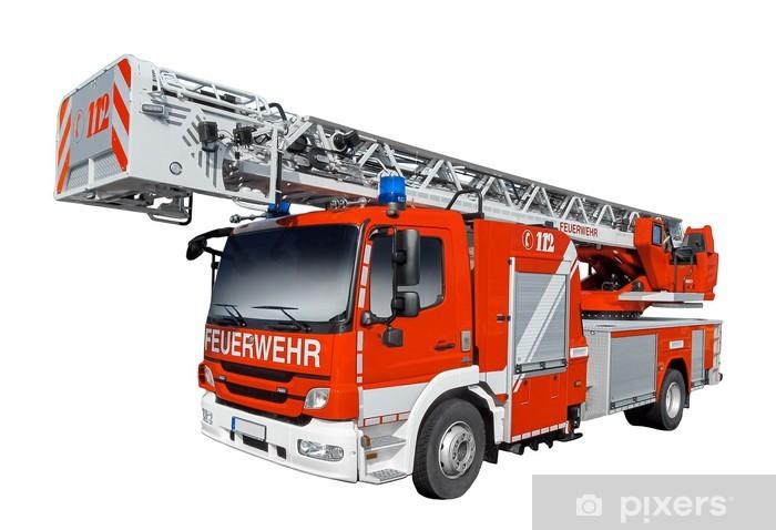 Fototapeta winylowa Straż Pożarna - Transport drogowy