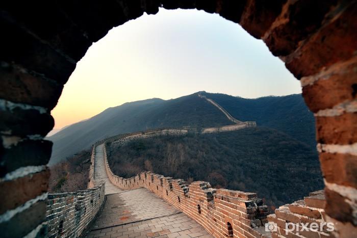 Vinylová fototapeta Velká čínská zeď ráno - Vinylová fototapeta