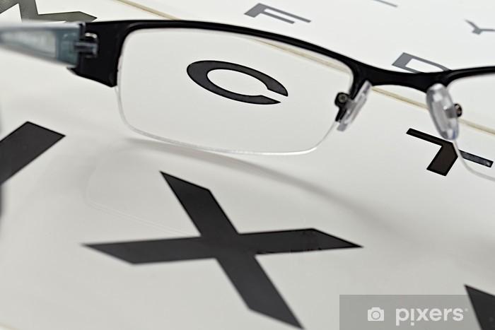 Opticien - Test de la vue Wall Mural • Pixers®