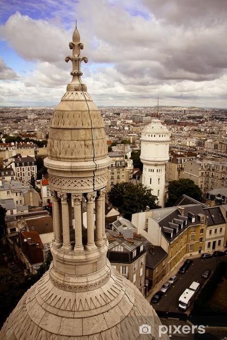 Naklejka Pixerstick Bazylika Sacré-Coeur - Miasta europejskie