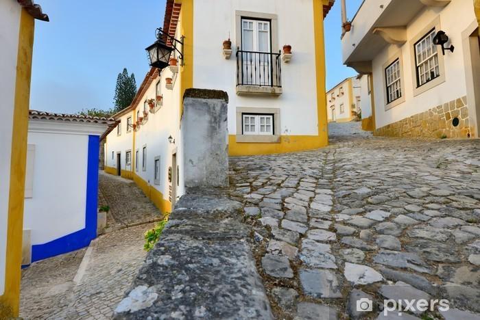 Papier peint vinyle Village blanc - Europe