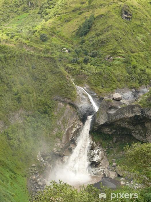 Naklejka Pixerstick Ekwador - Ameryka