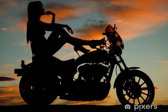 Frau bilder mit motorrad Top 20