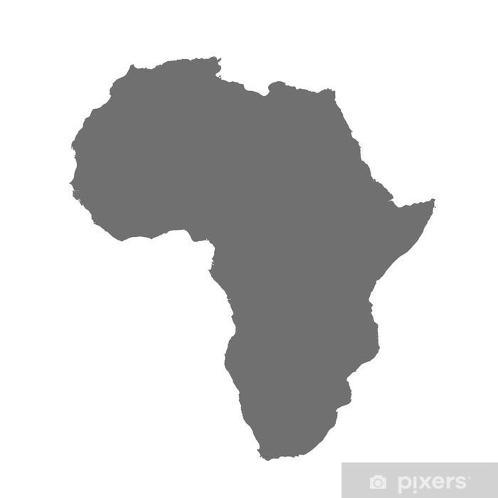 Papier peint Carte d afrique • Pixers® - Nous vivons pour changer
