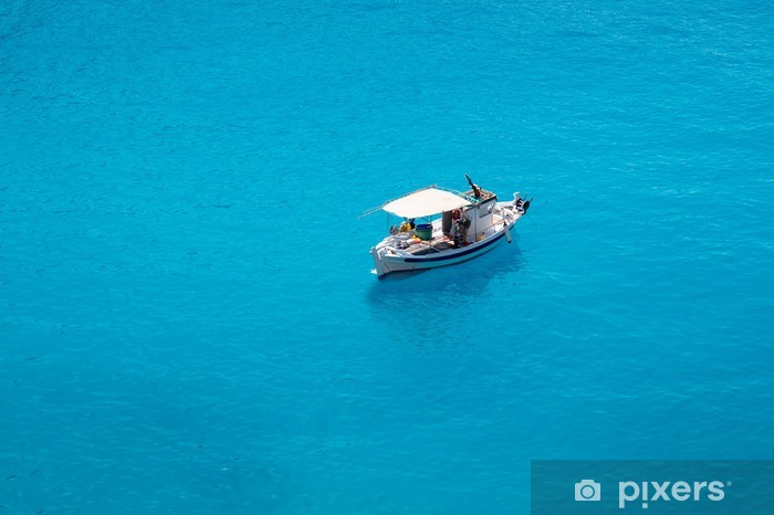 Naklejka Pixerstick Porto Katsiki plaża w Lefkada Island, Grecja - Europa