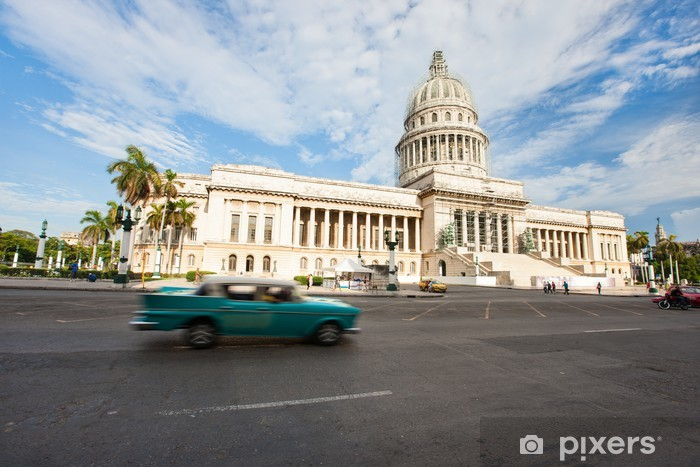 Vinyl-Fototapete Alt-Havanna - Kuba