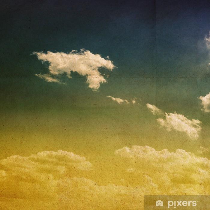 Papier peint vinyle Fond abstrait de nature - Ciel