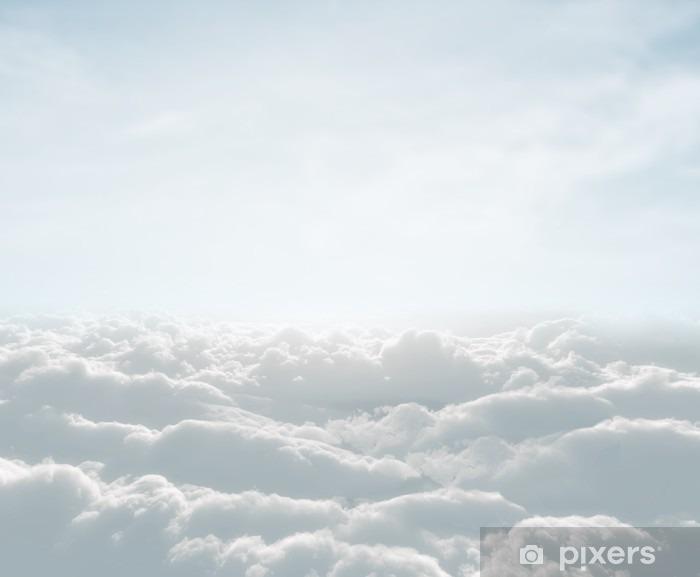Carta da Parati in Vinile Skyscape alta definizione con le nuvole - Temi