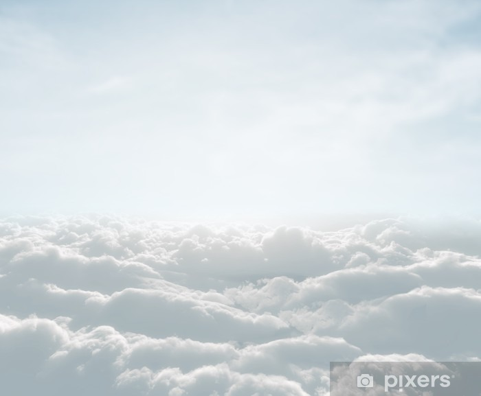 Teräväpiirto skyscape with clouds Vinyyli valokuvatapetti -