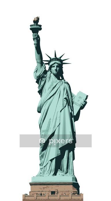 Adesivo da Parete Statua della libertà - Adesivo da parete