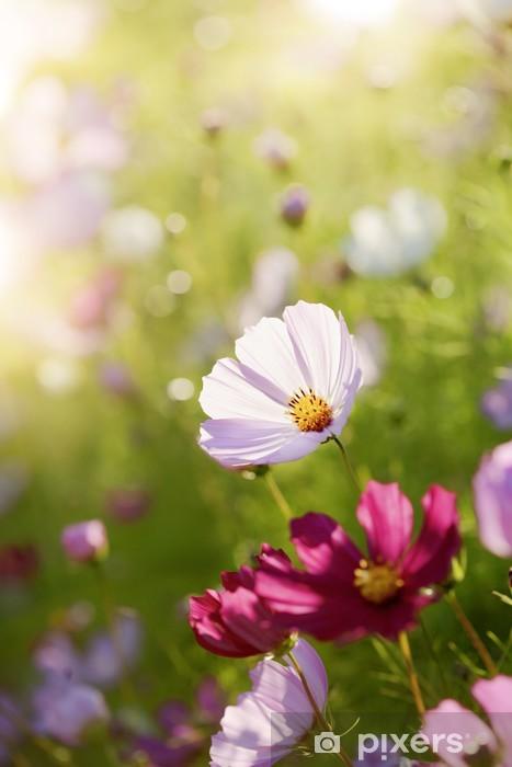 Sticker Pixerstick Soirée d'été - Fleurs
