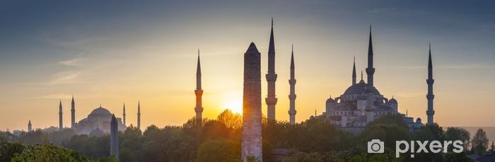Fototapeta samoprzylepna Sultanahmet Camii / Błękitny Meczet, Stambuł, Turcja - Tematy