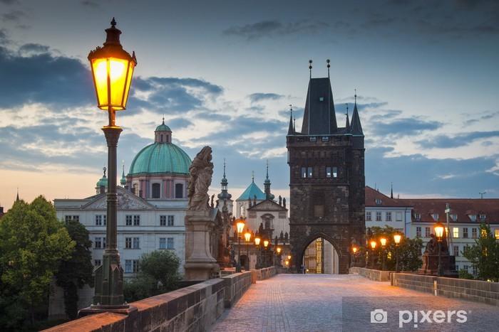 Fotomural Estándar El Puente de Carlos, Praga - Praga