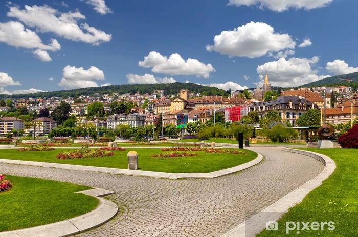 Naklejka Pixerstick Neuchâtel, Szwajcaria - Europa