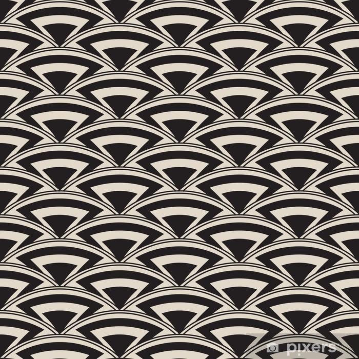 Poster Retro antike nahtlose Muster im Art Deco-Stil - Fashion