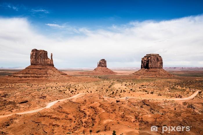 Vinyl Fotobehang Monument Valley - Woestijnen
