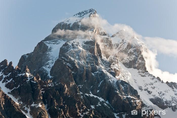 Ushba mountain. Vinyl Wall Mural - Mountains