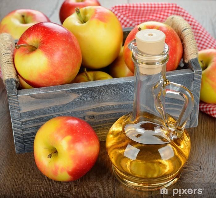 Fototapeta winylowa Ocet jabłkowy - Przyprawy i zioła