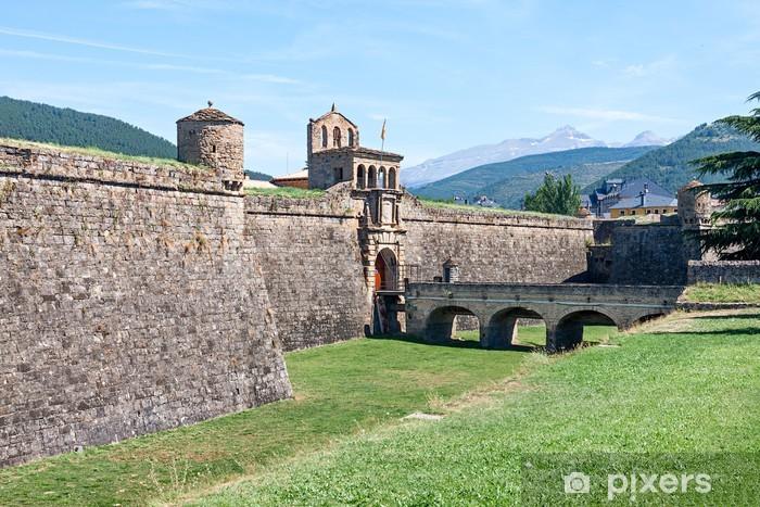 Papier peint vinyle Ciudadela de Jaca, une fortification militaire en Espagne - Europe