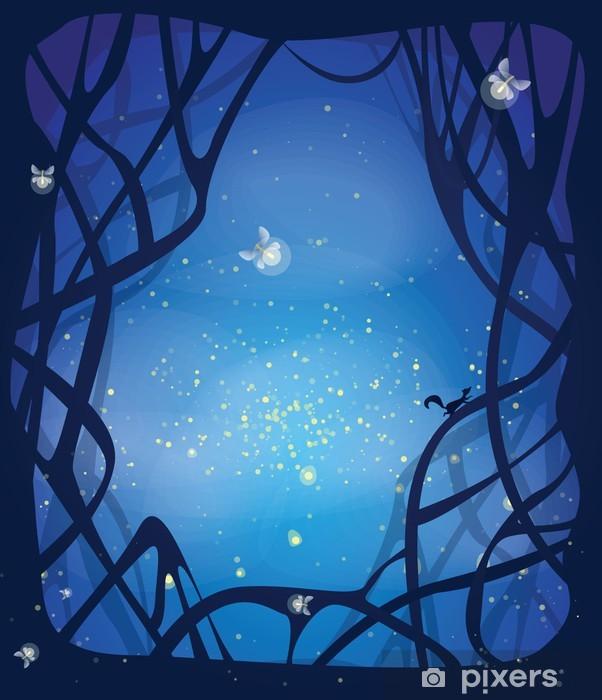 Notte Magica Immagini.Carta Da Parati In Vinile Sfondo Di Notte Magica