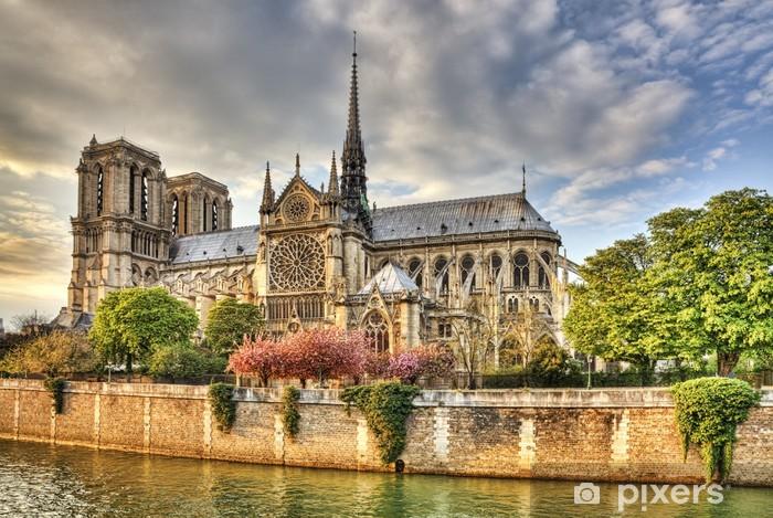 Naklejka Pixerstick Notre Dame -