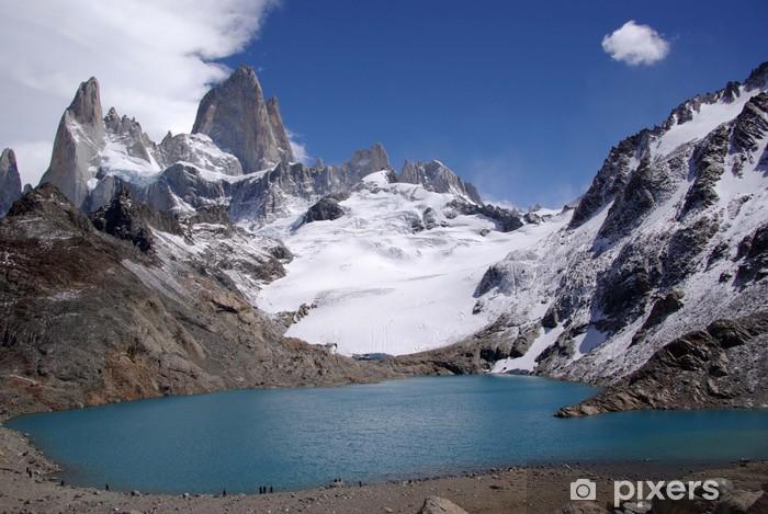 Naklejka Pixerstick Mont Fitz Roy, Argentyna - Ameryka