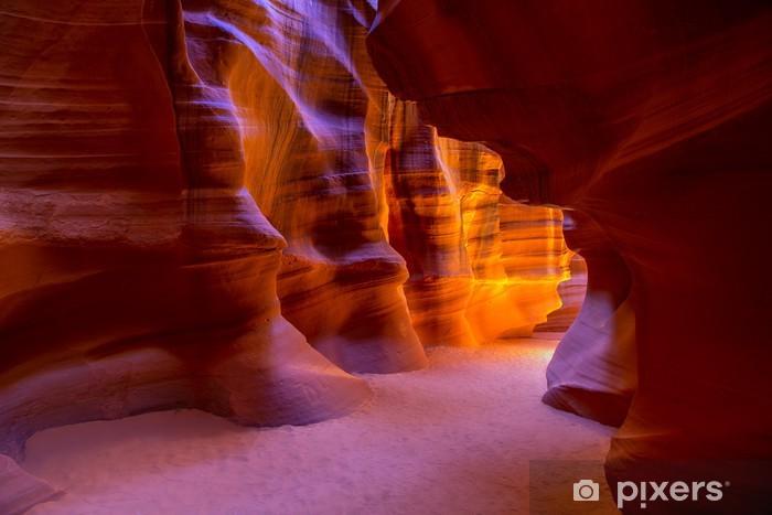 Pixerstick Dekor Antelope Canyon Arizona på Navajo mark i närheten av Sida - Amerika