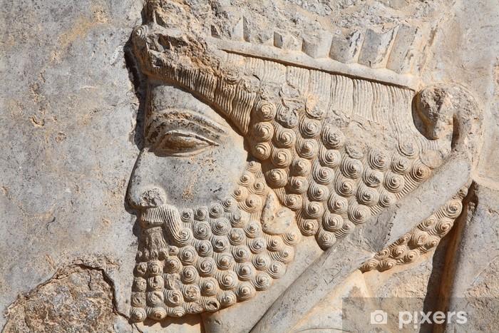 Abwaschbare Fototapete Bas-Relief des persischen Soldaten aus Persepolis - Kunst und Gestaltung