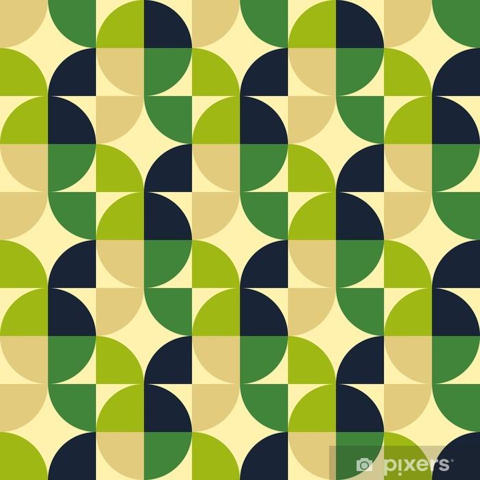 Vinyl Fotobehang Retro abstracte naadloze patroon - Texturen