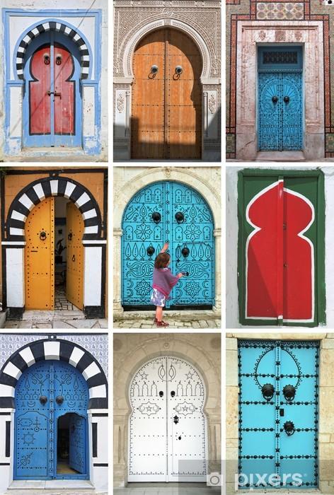 Aufkleber mosaik von arabischen t ren tunesien for Mosaik aufkleber