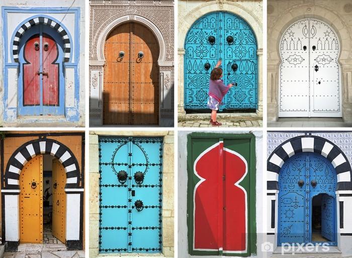 Papier peint mosa que de portes arabes tunisie afrique du nord pixers nous vivons pour for Papier peint tunisie