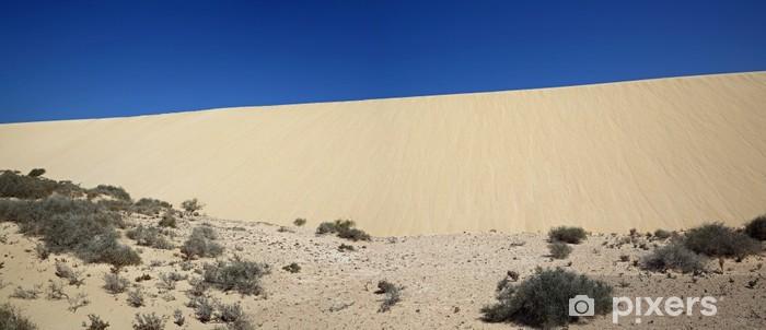 Fototapeta winylowa Wydmy Fuerteventura - Wakacje
