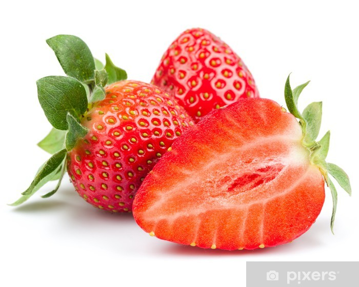 strawberry Vinyl Wall Mural - Fruit