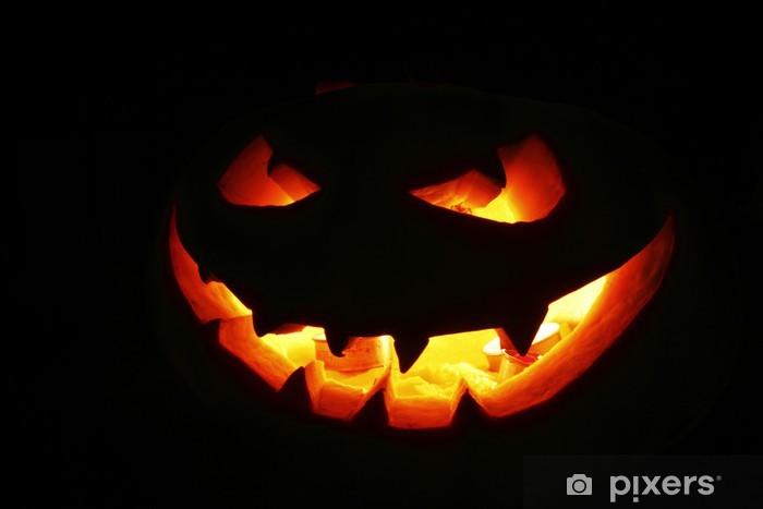 Adesivo Zucca di halloween • Pixers® - Viviamo per il cambiamento 2d962c725b39