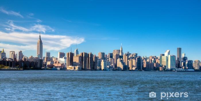 Sticker Pixerstick New York, Midtown, - Villes américaines
