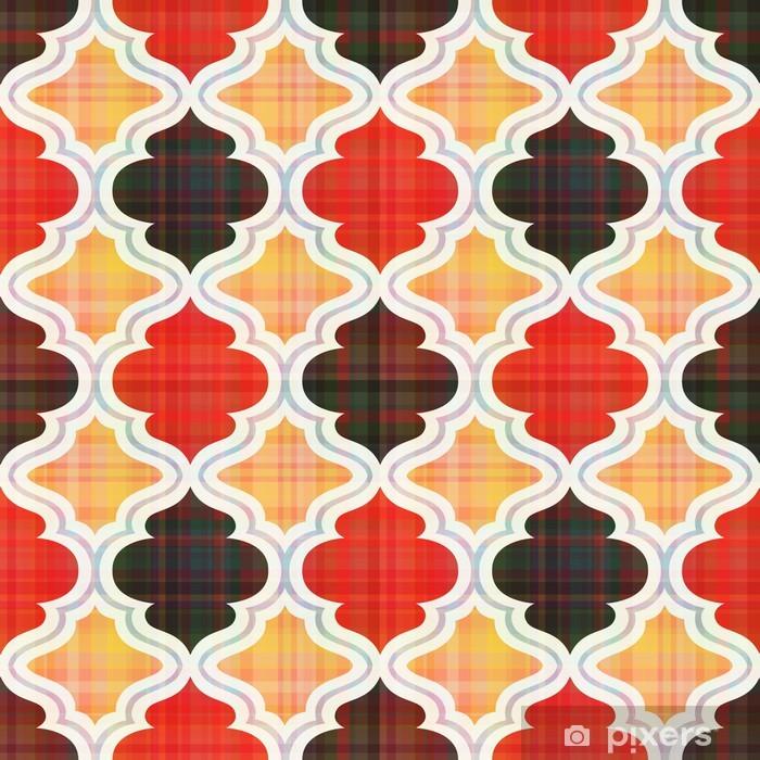 Poster Motif géométrique abstrait sans soudure - Styles