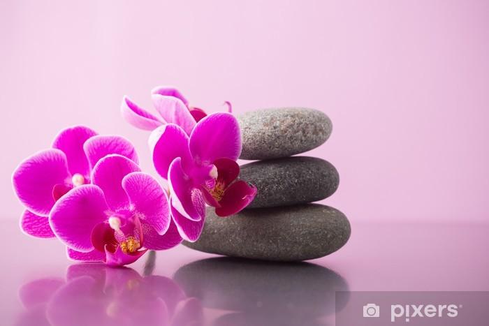 Nálepka Pixerstick Lázeňské kameny - Životní styl, péče o tělo a krása