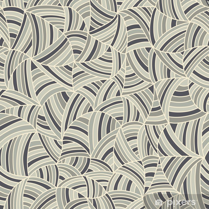 Mural de Parede em Vinil Abstract seamless pattern - Fundos