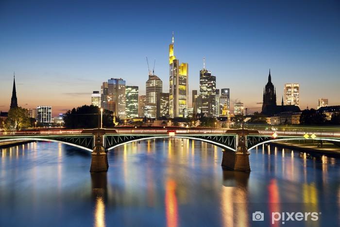 Frankfurt am Main. Pixerstick Sticker - Themes