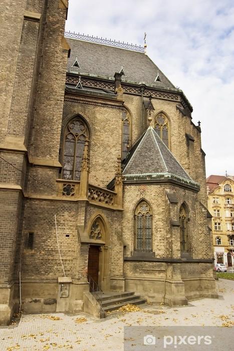 Papier peint vinyle Miru église - Villes européennes