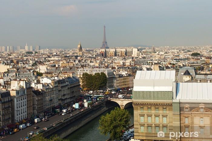 Papier Peint Paris Skyline Pixers Nous Vivons Pour Changer