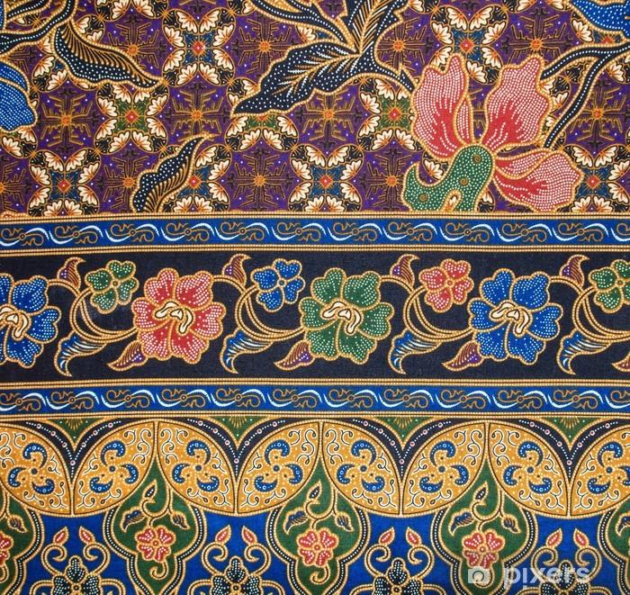 Batik Patterns Pixerstick Sticker - Fashion