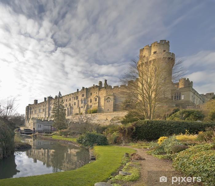 Fototapeta winylowa Widok zamku Warwick i rzeki Avon - Wakacje