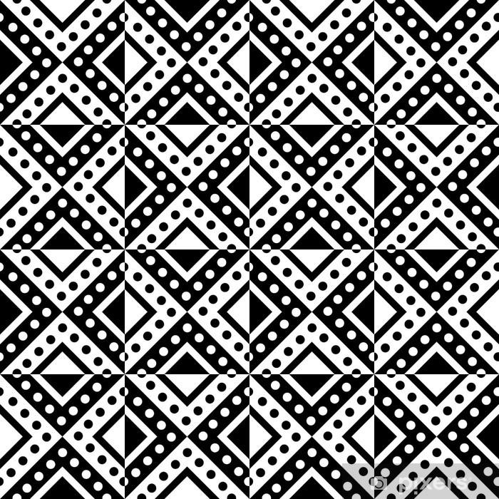 Carta da Parati in Vinile Seamless pattern - Stili