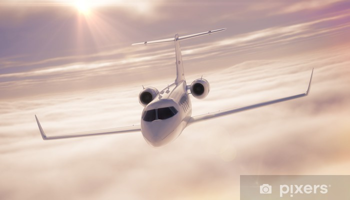 Vinilo Pixerstick Business jet - Temas