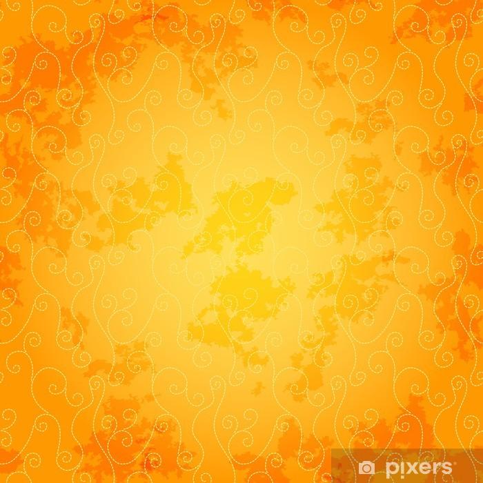Papier Peint Orange Vif Seamless Pixers Nous Vivons Pour Changer